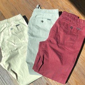 3 pairs men's joggers size 32 cotton express